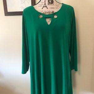 Alfani Green tunic XL super pretty